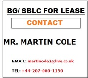 BG/ SBLC available for lease